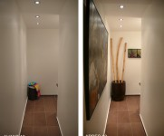 Homestaging couloir Bruxelles